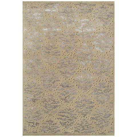 Maison Captiva Gold 44482 Wool Area Rug