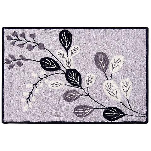 Geneva 2'x3' Hand Hooked Wool Rug