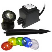 Power Beam Underwater Halogen Pond Light Kit