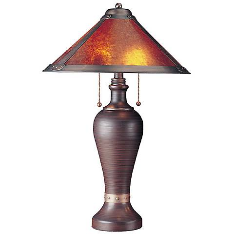 San Gabriel Mica Collection Table Lamp