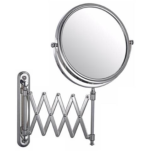 Aptations Chrome Swing Arm Vanity Mirror