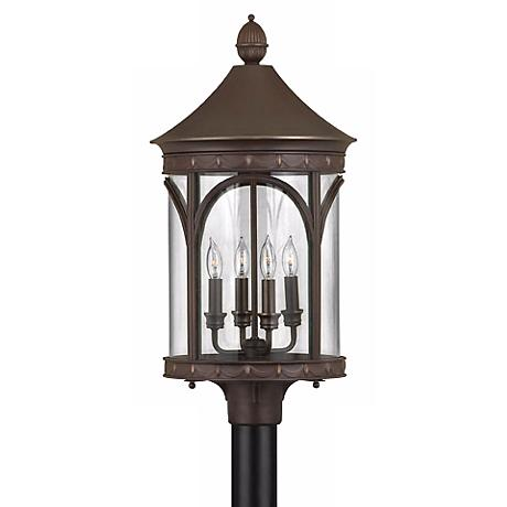 """Hinkley Lucerne Collection 26"""" High Outdoor Post Light"""