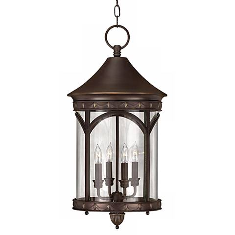 "Lucerne Collection 24 1/2"" High Outdoor Hanging Light"