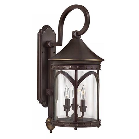 "Lucerne Collection 25"" High Outdoor Wall Light"