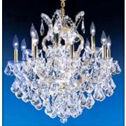 James R. Moder Maria Teresa Large Crystal Chandelier