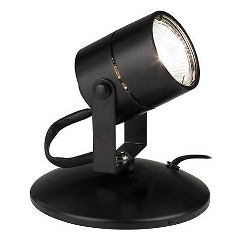 Lil Big Wonder Black 50 Watt MR16 Mini Spot Light