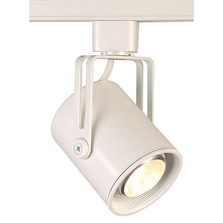 juno mini flatback halogen track light 52628 lamps plus. Black Bedroom Furniture Sets. Home Design Ideas