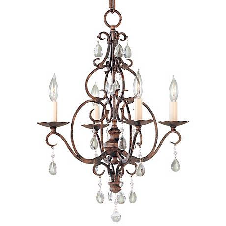 Chateau Collection Mini Duo Chandelier