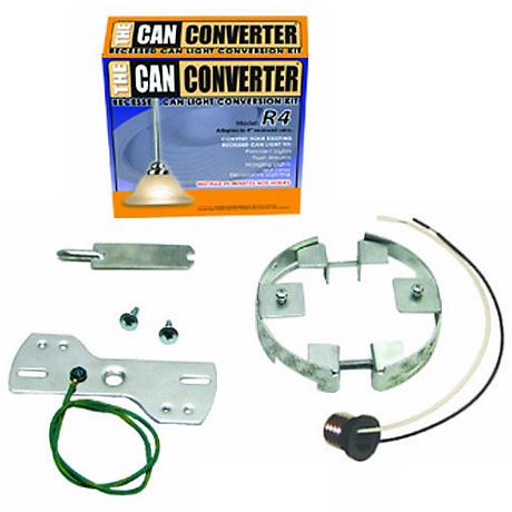 "4"" Can Converter Recessed Can Light Converter Kit"
