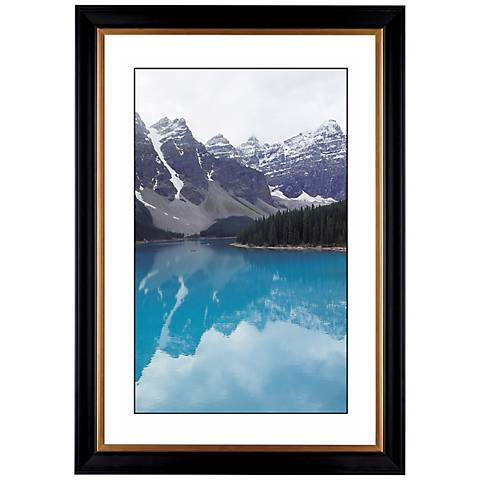 "Glacier Lake Giclee 41 3/8"" Wide Wall Art"