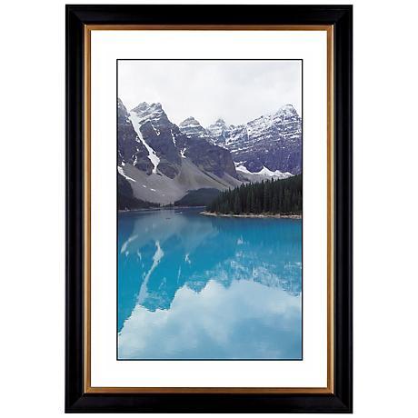 "Glacier Lake Giclee 41 3/8"" Wide Wall Art"