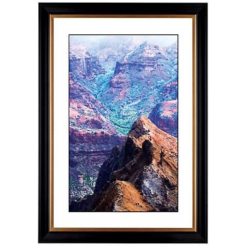 "Canyon Vista Giclee 41 3/8"" Wide Wall Art"