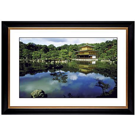 "Mirror Lake Giclee 41 3/8"" Wide Wall Art"