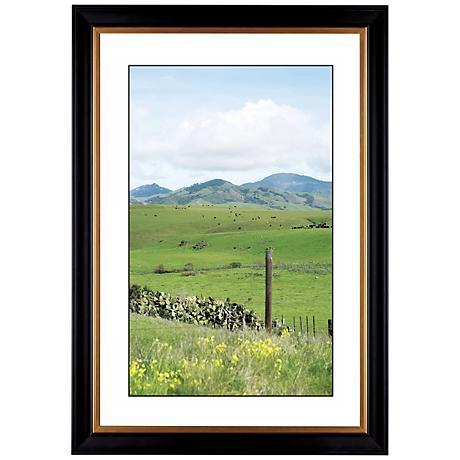 """Green Vistas Giclee 41 3/8"""" High Wall Art"""