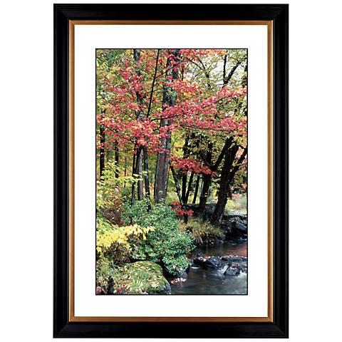 "Autumn View Giclee 41 3/8"" High Wall Art"