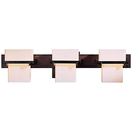 "Kakomi Collection Opal Glass 24 1/2"" Wide Bathroom Light"