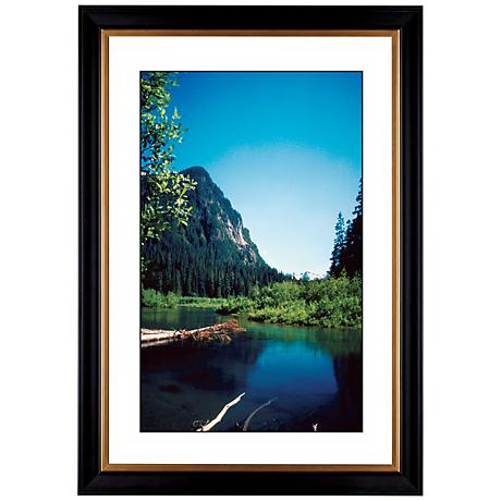 "Rocky Mountain View Giclee 41 3/8"" High Wall Art"