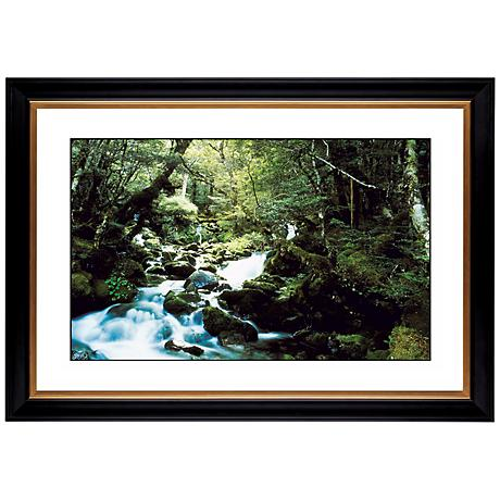 """Forest Brook Giclee 41 3/8"""" Wide Wall Art"""