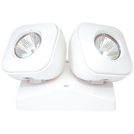 Dual Head Indoor 5.4 Watt MR-16 Remote Emergency Light