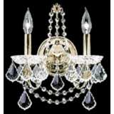 James R. Moder  Belle Wave Collection Crystal Wall Sconce