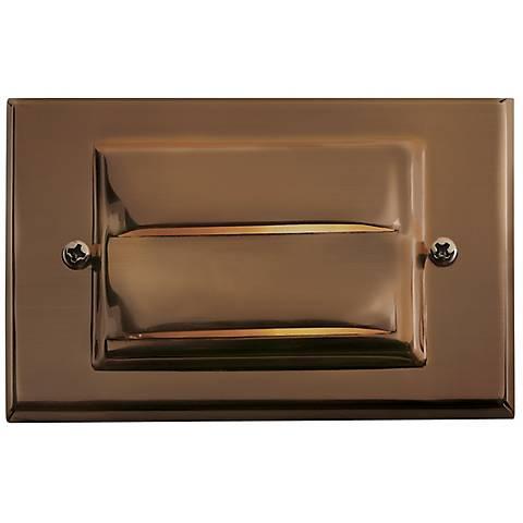 "Hinkley Matte Bronze 4 3/4"" Wide Horizontal Deck Light"