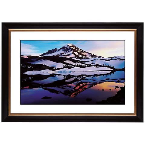 "Icelandic Peak Giclee 41 3/8"" Wide Wall Art"