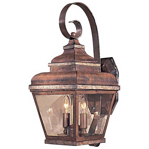 """Mossoro Collection 17 3/4"""" High Outdoor Wall Light"""