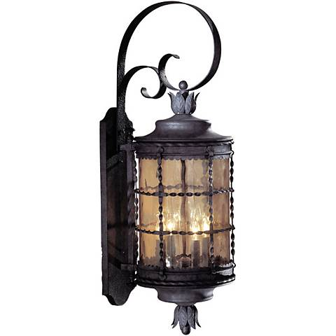 "Mallorca™ Collection Iron 34 1/4"" High Large Outdoor Light"