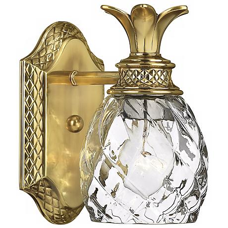 """Hinkley Anana Plantation Collection 8 3/4"""" High Wall Sconce"""