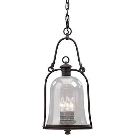 """Owings Mill 21 1/2"""" High Outdoor Hanging Light Fixture"""