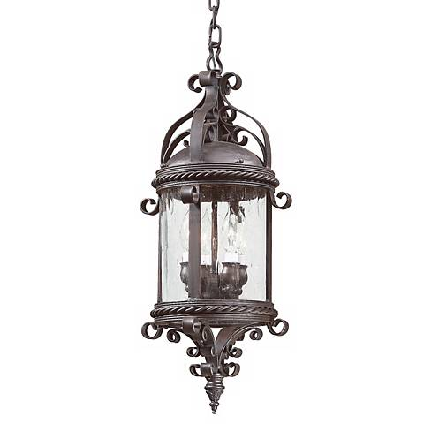 """Pamplona Collection 25"""" High Outdoor Hanging Light"""