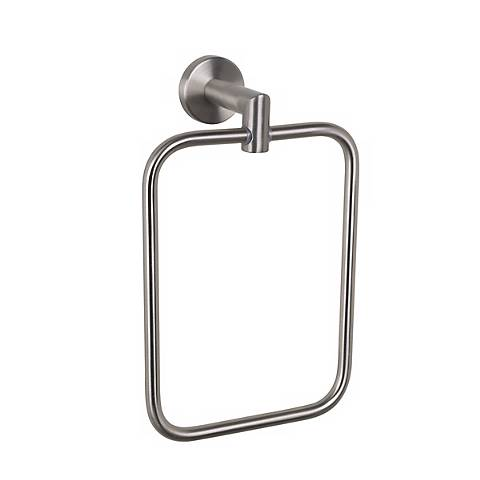 Astral Satin Nickel Towel Holder Ring
