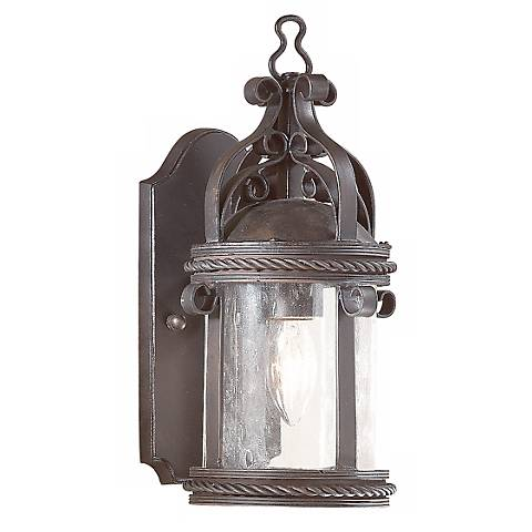 "Pamplona Collection 12 1/4"" High Outdoor Wall Light"