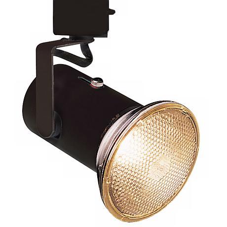 Lightolier™  Black Mini Universal Track Bullet Light