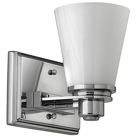 Avon collection 7 1 4 wide bathroom light fixture 58712 lamps plus for How to clean pitted chrome bathroom fixtures