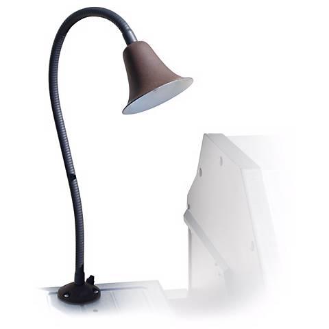 Black Textured Aluminum Bell Line Voltage Barbecue Light