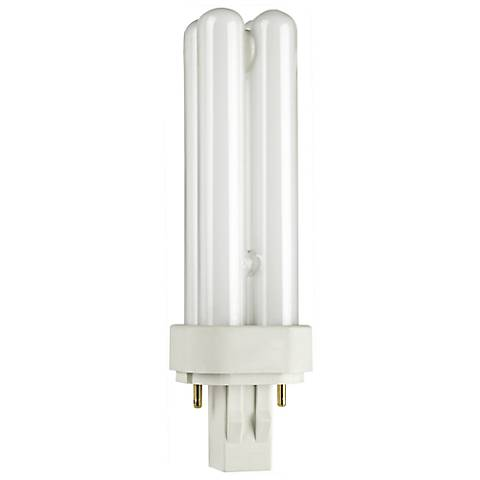 Two- Pin Quad 13 Watt Compact Fluorescent Light Bulb