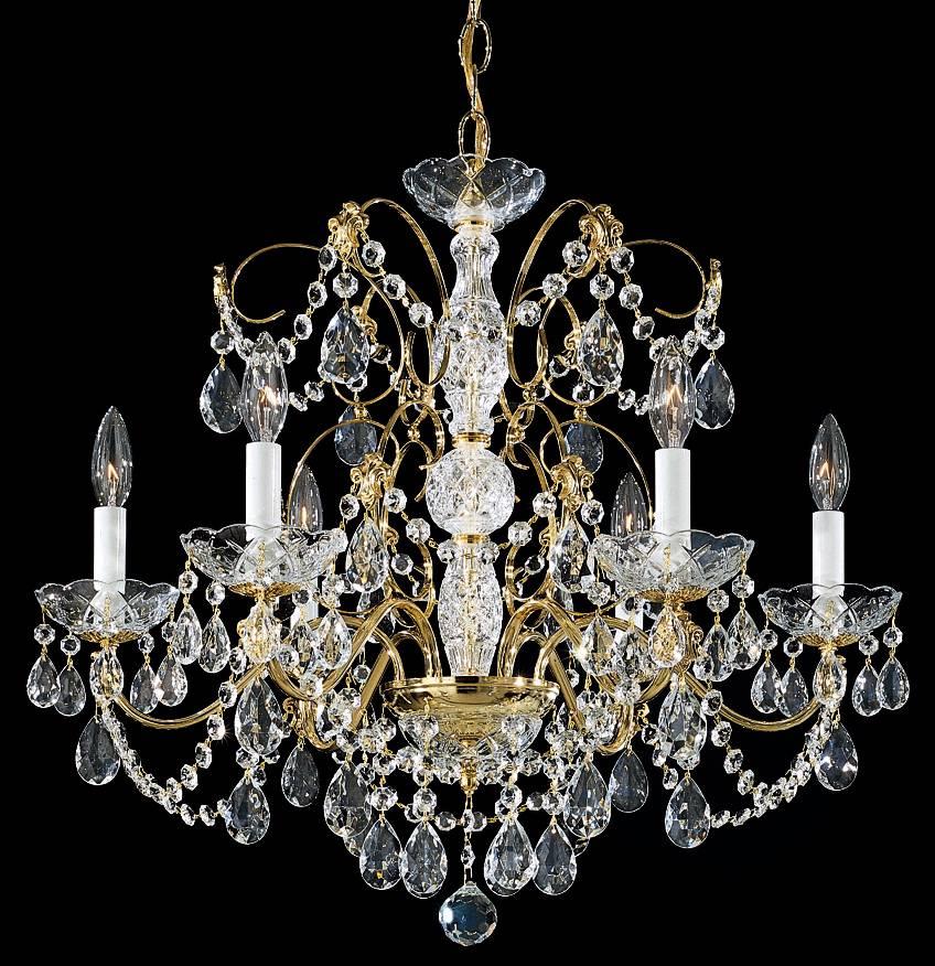 Schonbek Trilliane Collection 20 Quot Wide Crystal Chandelier