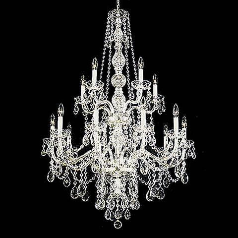 Schonbek Lillian Collection 15 Light Crystal Chandelier
