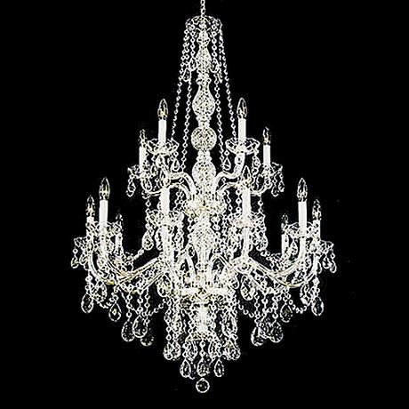 Schonbek Lillian Collection 15 Light Crystal Chandelier