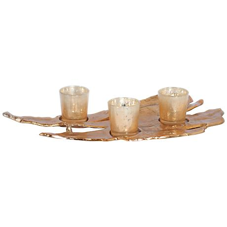 Rojo 16 Small Driftwood Votive Tealight Candle Holder
