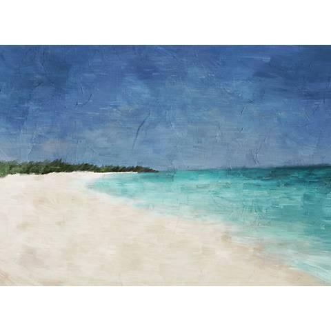 "Paradise Beach 22"" Wide Canvas Wall Art"