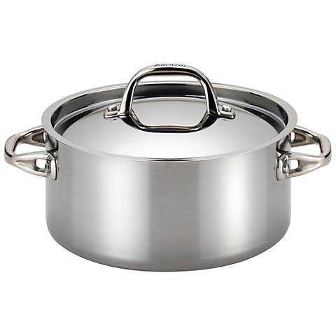 Anolon Tri-Ply Clad Stainless Steel 5-Quart Dutch Oven