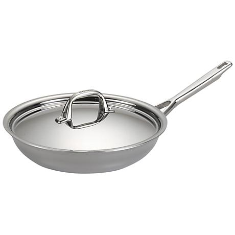 "Anolon Tri-Ply Clad 12 3/4"" Covered Skillet"