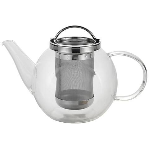 BonJour® Coffee and Tea 27-Ounce Harmony Glass Teapot