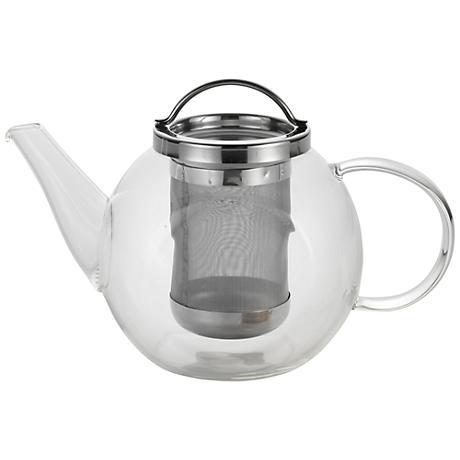 BonJour® Coffee and Tea 27-Ounce Harmony Glass Teapot