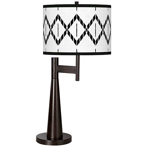 Paved Desert Giclee Novo Table Lamp