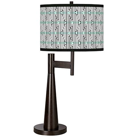 Indigenous Giclee Novo Table Lamp