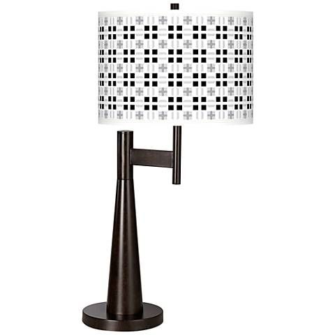 Quadrant Giclee Novo Table Lamp