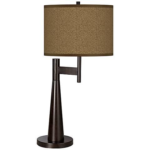 khaki giclee novo table lamp 5d113 5v598 lamps plus. Black Bedroom Furniture Sets. Home Design Ideas